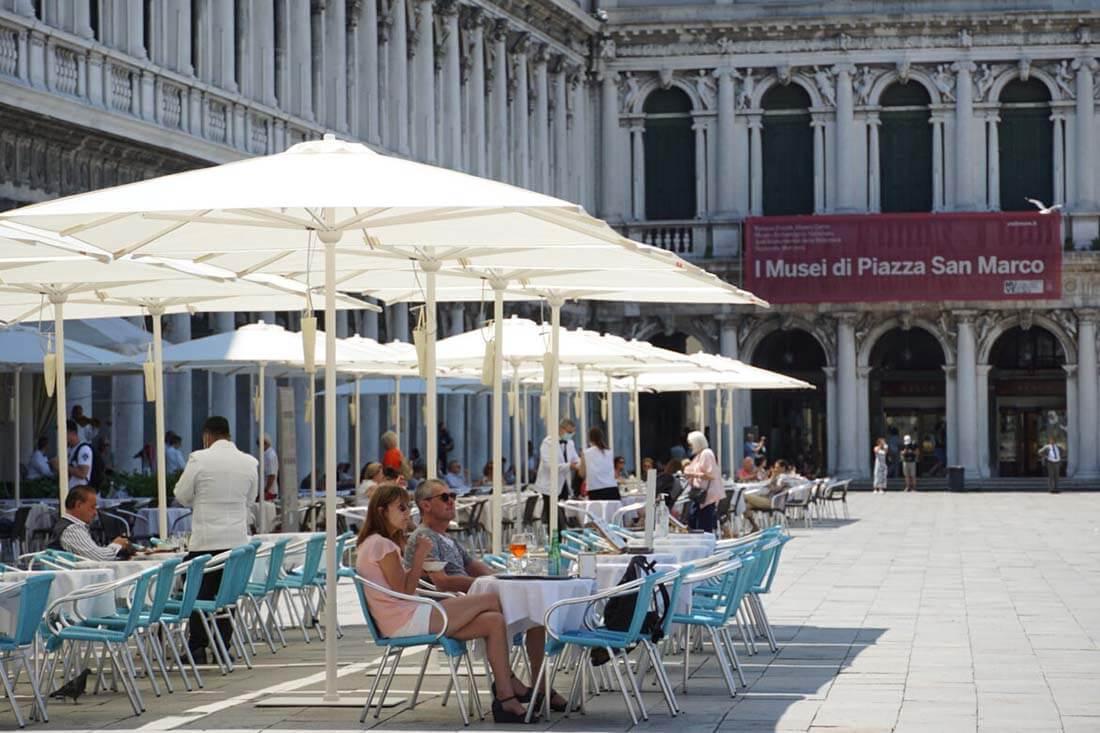 ombrelloni professional gaggio in piazza san marco venezia