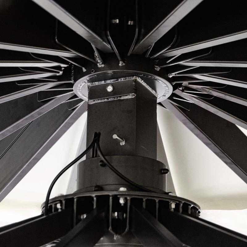 Ombrellone gigante professionale modello Golia - Gaggio Ombrelloni 3