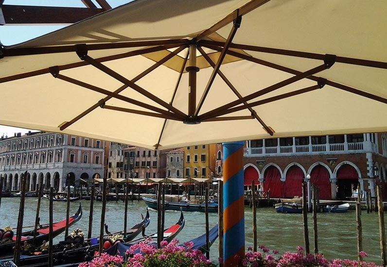 Ombrelloni Swing reatraibili Gaggio - Venezia