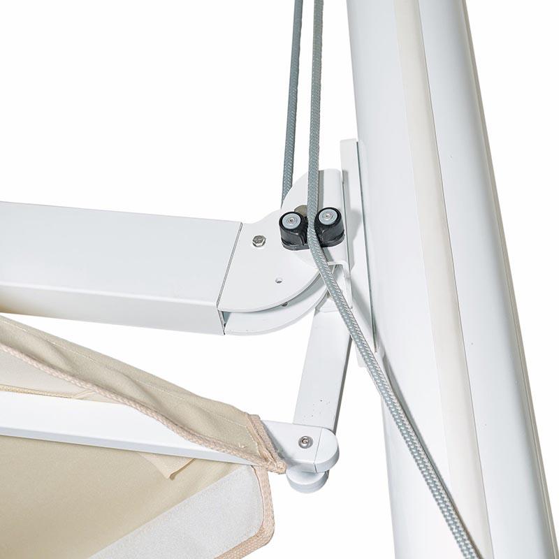 Ombrelloni Swing reatraibili Gaggio - dettaglio 2