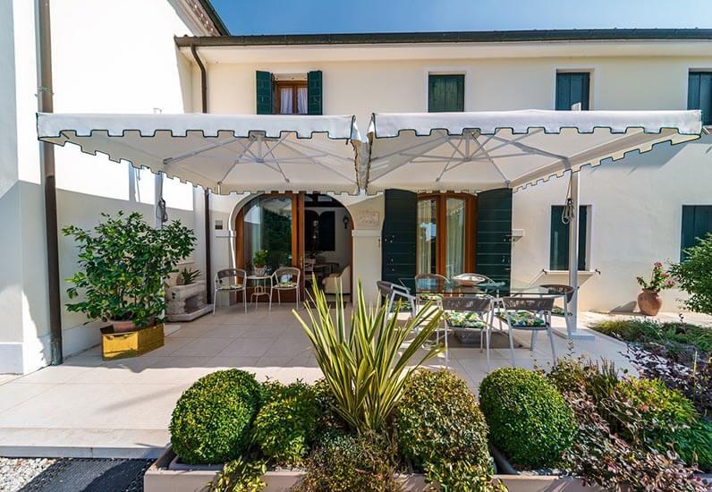 Ombrelloni Swing reatraibili a palo laterale Gaggio - Venezia