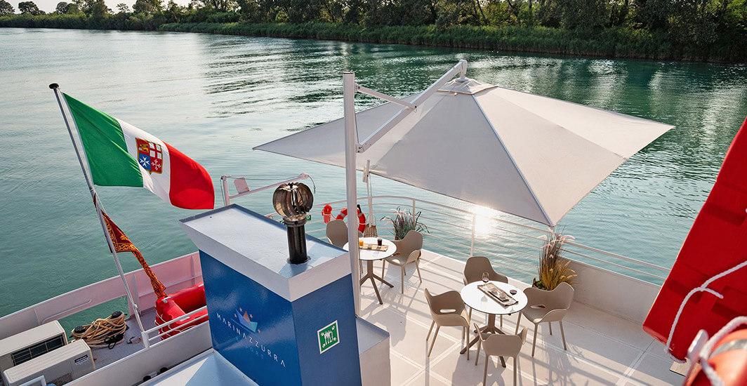 Ombrellone-Gaggio-Swing-Marina-Azzurra-Resort-Bibione